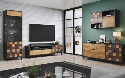 Мебели за креативен, функционален и модерен хол!