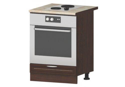 Modul inferior City V7 stejar Sonoma - corp pentru cuptor incorporabil - Module de bucatarie