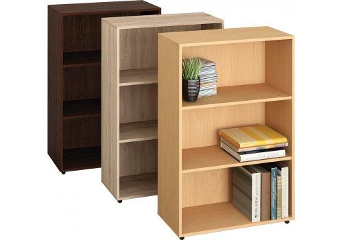 Etajera Lina 3 - stejar Sonoma - Rafturi si biblioteci