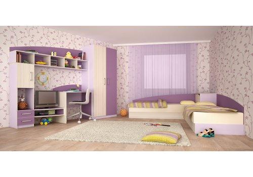 Mobilier pentru copii Thomas - lila si violet - Camera copiilor