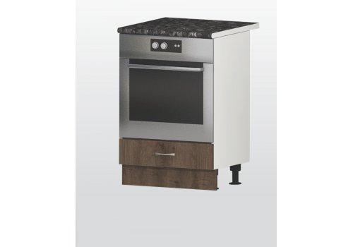 Modul inferior Havana V7 stejar maron - corp pentru cuptor incorporabil - Module de bucatarie