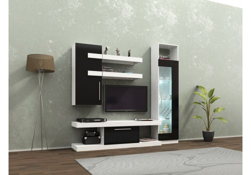 Biblioteca Alanya - alb si negru - Comparare Produse