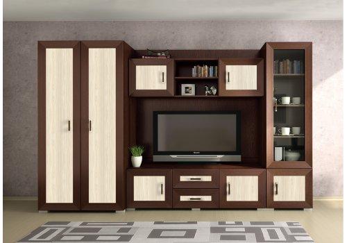 Biblioteca Bolero - wenge si stejar nisipos - Comparare Produse