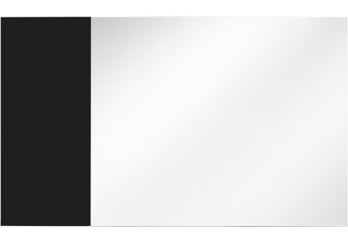Огледало Кастел - Черен гланц - Огледала за спалня