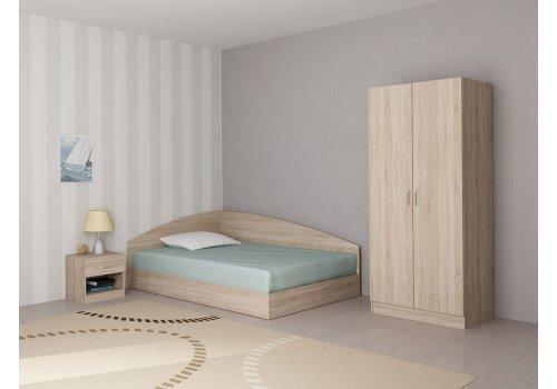 Set dormitor Apolo 1 - stejar Sonoma - Seturi de dormitoare