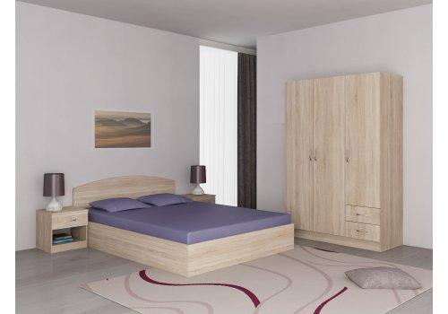 Set dormitor Apolo 2 - stejar Sonoma - Seturi de dormitoare