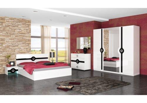 Set dormitor Fiona lucios - Seturi de dormitoare