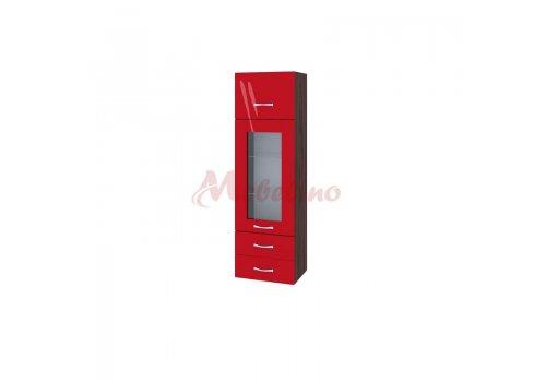 Modul BC-101 dulap cu usa ridicatoare,vitrina si 2 sertare - Module de bucatarie