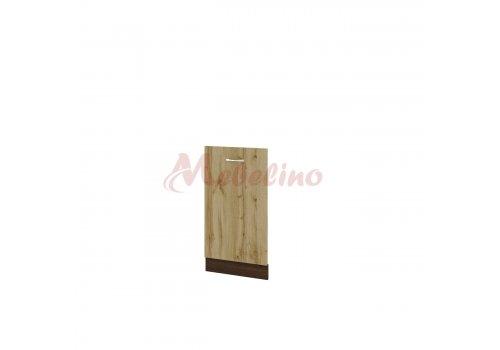 Долен модул ВДД 38 врата за вградена съдомиялна - Мебели-Ирим