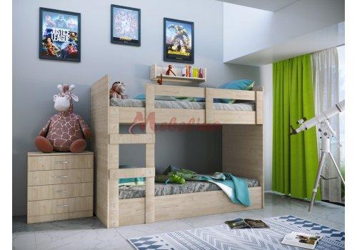 Pat suprapuse City 5015 cu comod incluse - Camera copiilor