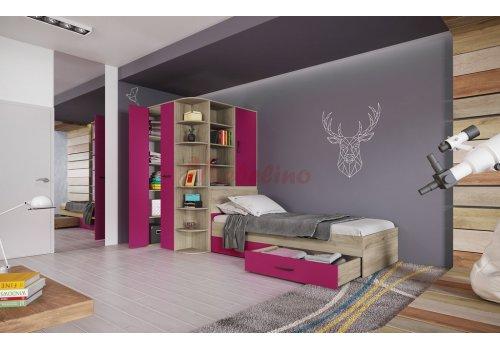 Mobilier copii City 5019 - Seturi de dormitoare pentru copii