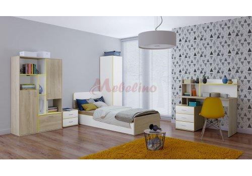 Mobilier copii City 5021 - Seturi de dormitoare pentru copii