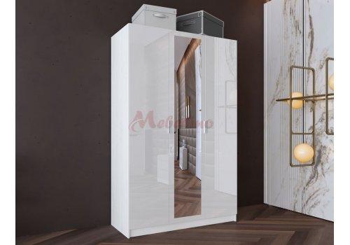 Dulap ciu trei usi City 1026 cu oglinda - Dulapuri de dormitor