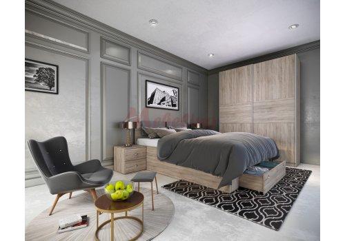 Mobilier dormitor City 7040 - Comparare Produse