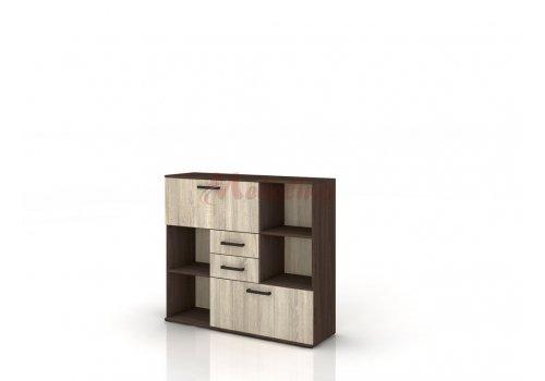 Modul birou Grand 39 -dulap cu 4 sertare - Birou