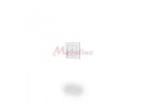 Врата за надстройка Dress - Бяло фладер - Мебели-Ирим