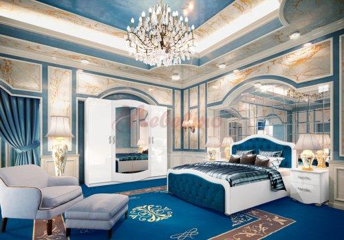 Mobilier dormitor City 7034 cu iluminare LED - Comparare Produse