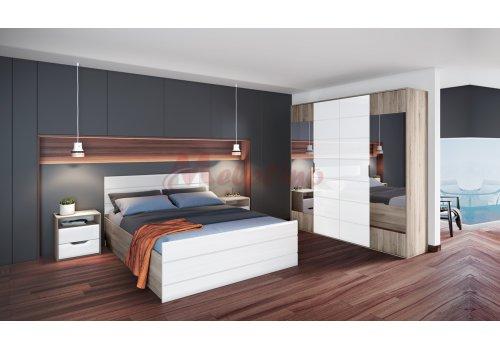 Mobilier dormitor City 7043 cu mecanism de ridicare - Comparare Produse