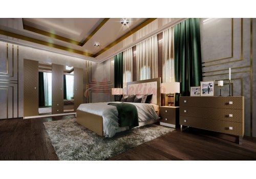 Mobilier dormitor Amulet cu mecanism de ridicare si iluminare LED incluse - Comparare Produse
