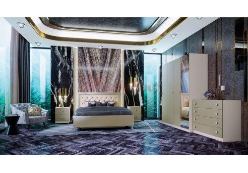 Mobilier dormitor Bosvor cu mecanism de ridicare si iluminare LED incluse - Comparare Produse