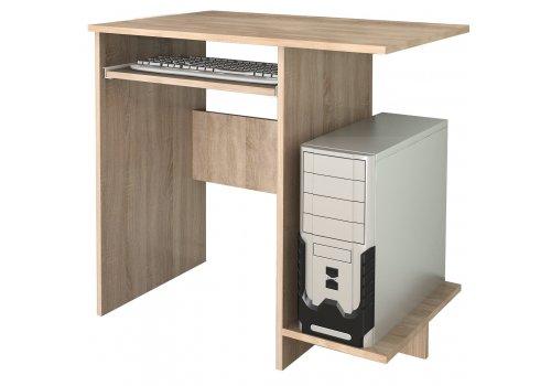 Birou Marea No.1 cu blat pentru tastatura - stejar Sonoma - Birou