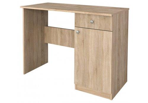 Birou Marea No.2 cu dulap si sertar - stejar Sonoma - Birou