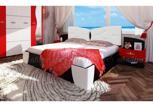 Легло Амор с 2 нощни шкафчета - Легла