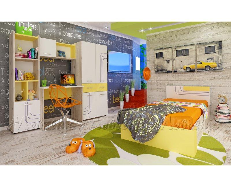 Mobilier pentru camera copiilor - Seturi de dormitoare pentru copii - Mobilier pentru camera copiilor Ken