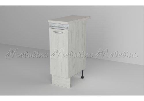Долен шкаф с врата и рафт Д1 - Кухненски модули