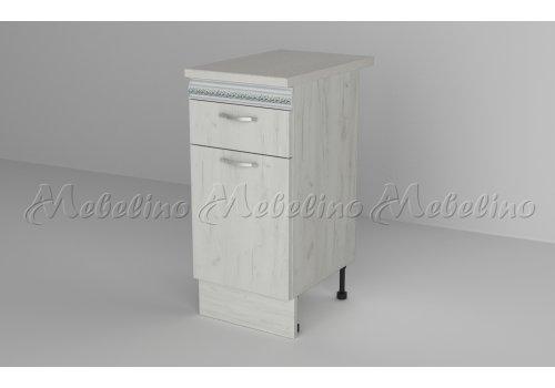 Долен шкаф с врата и чекмедже Д4 - Кухненски модули