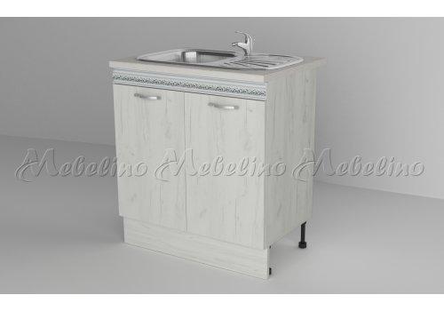 Долен шкаф с две врати за мивка Д7 - Кухненски модули
