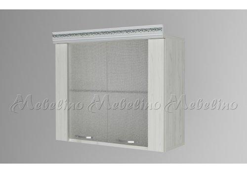 Горен шкаф с две витрини и рафт Г8 - Кухненски модули
