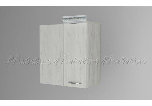 Горен шкаф за ъгъл с врата и рафт Г9 - Кухненски модули