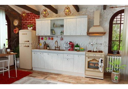 Bucatarie modulara Toscana 1 cu profil decorativ - Seturi de bucatarie